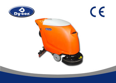 550W Suction Motor Hand Held Floor Scrubber Machine Linetex Puing Blade
